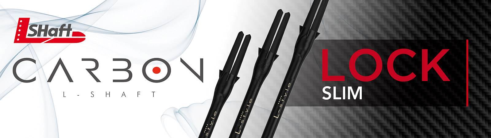 L-Style L-Shafts Carbon Lock Slim Shafts