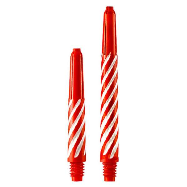 Designa - Spiroline Nylonshaft - Rot/Weiß