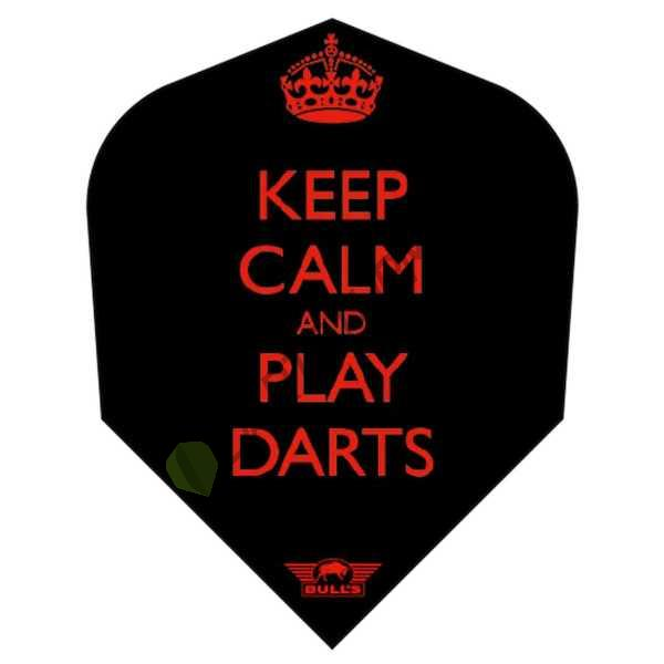 Bull´s NL - Powerflite - Keep Calm and Play Darts
