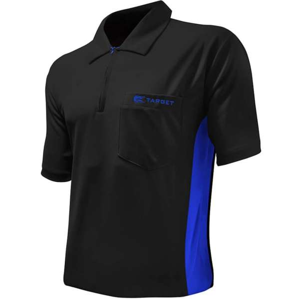 Target - Coolplay Hybrid Dartshirt - Schwarz/Blau