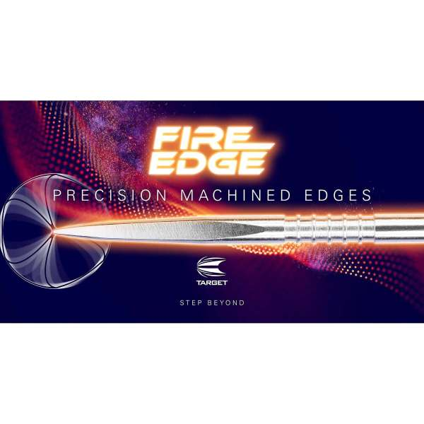 Target - Fire Edge Point - Silber