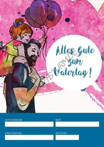 DartSturm.de - Geschenkgutschein Vatertag - per E-Mail