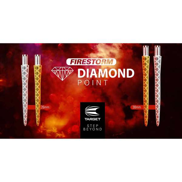 Target - Firestorm Point Diamond - Silber
