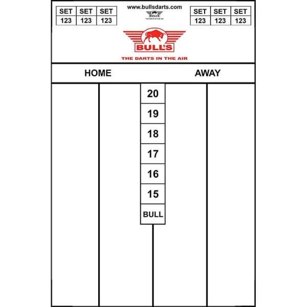 Bull's NL - Flexibles Scoreboard - 45x30