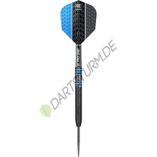 Target - Vapor-8 - Schwarz Blau - Steeldart