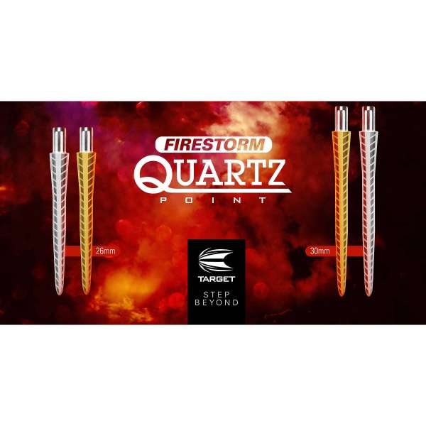 Target - Firestorm Point Quartz - Gold