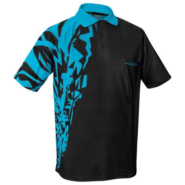 Harrows - Rapide Dartshirt - Blau