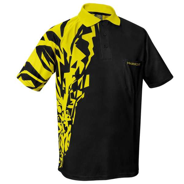 Harrows - Rapide Dartshirt - Gelb