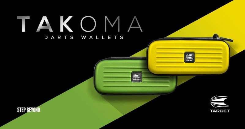 Target Takoma Wallet Gelb und Grün