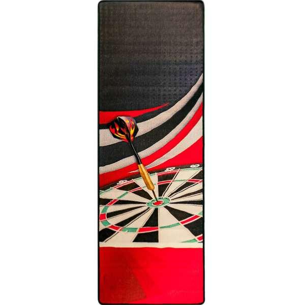 McKicks - Dart Teppichmatte Rot - 300x65cm