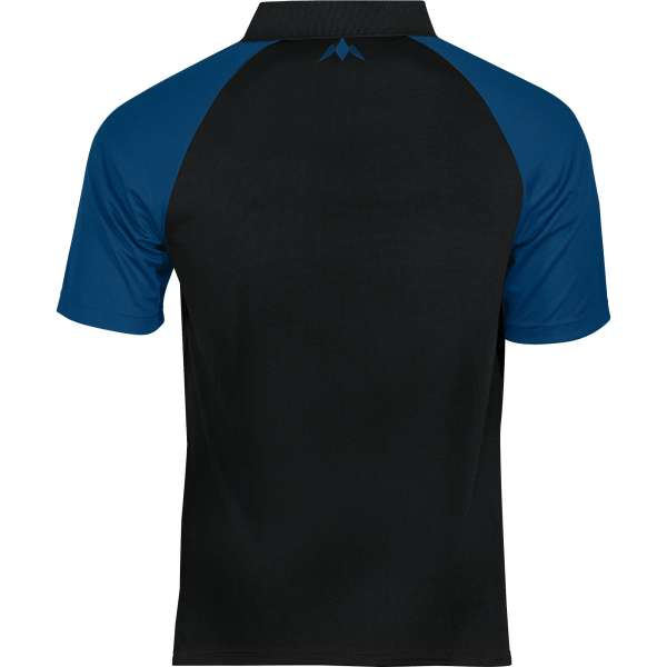 Mission - Exos Cool Dartshirt - Schwarz/Blau