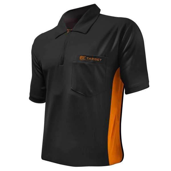 Target - Coolplay Hybrid Dartshirt - Schwarz/Orange