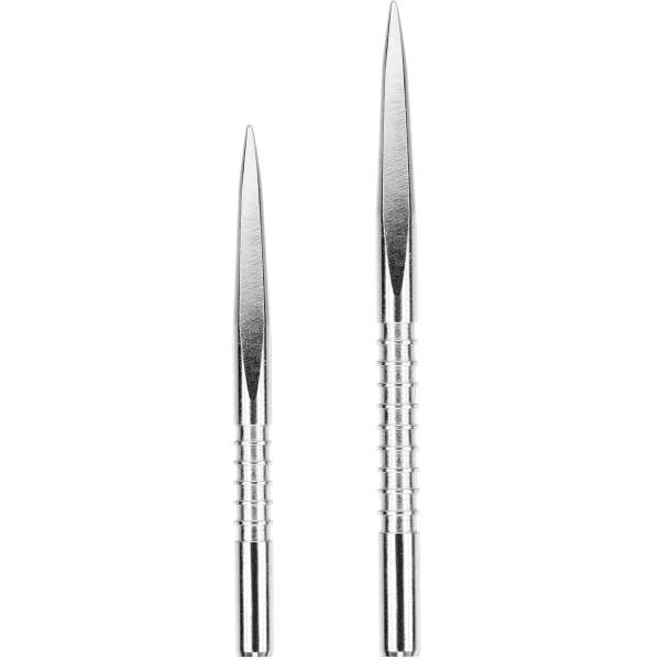 Target - Fire Edge Point - Silber