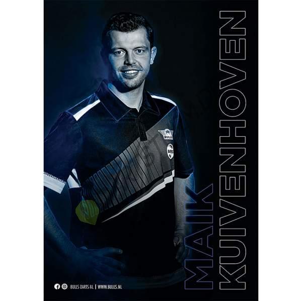 Bull's NL - Maik Kuivenhoven 2021 A3 Poster