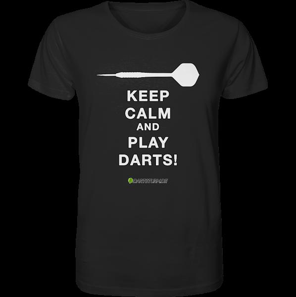 DartSturm.de - T-Shirt - Keep Calm And Play Darts