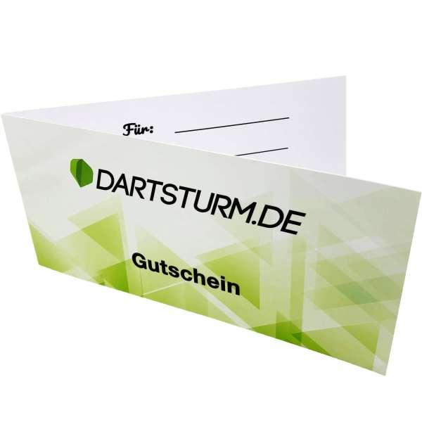 DartSturm.de - Darts Geschenk Gutschein