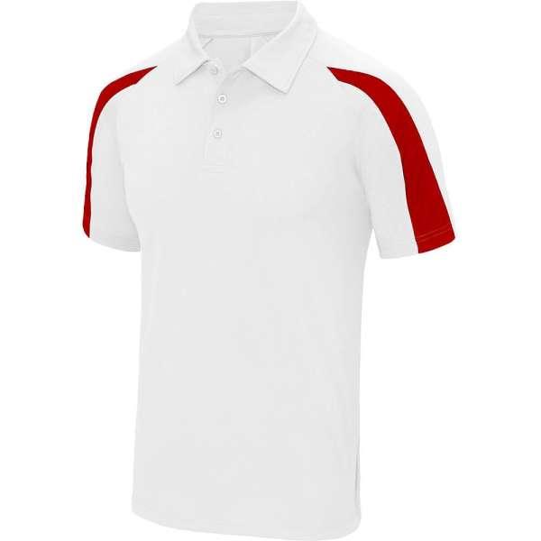 DartSturm.de - Team Dartshirt - Weiß/Rot