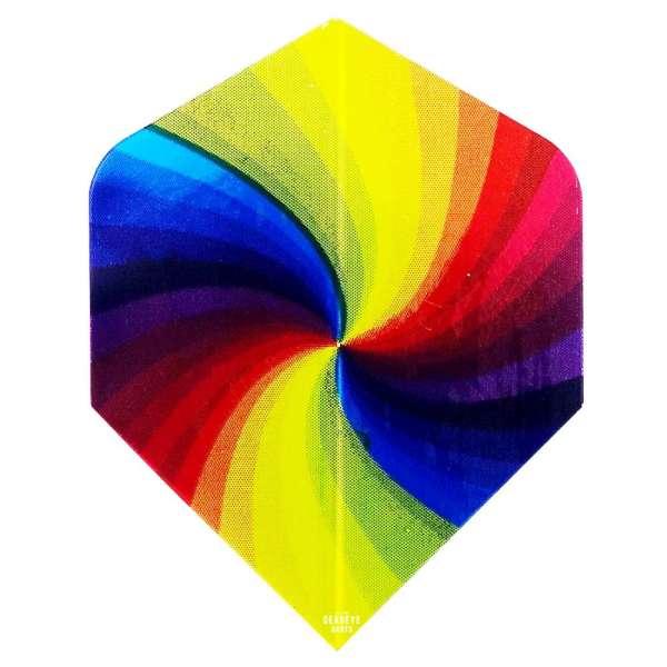 Unicorn - Regenbogen Wirbel - Diamond